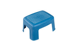 Cadeira plástica Foto de Stock Royalty Free