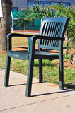 Cadeira plástica Fotos de Stock