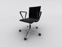 Cadeira preta do escritório ilustração royalty free