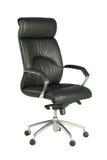Cadeira preta do escritório Imagem de Stock