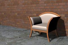 Cadeira vazia Fotos de Stock Royalty Free