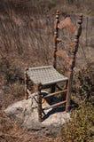 Cadeira velha Foto de Stock