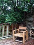 Cadeira velha Fotografia de Stock