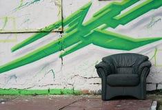 Cadeira velha imagem de stock