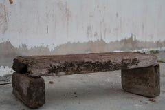 Cadeira velha Fotos de Stock Royalty Free