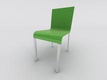 Cadeira verde ilustração do vetor