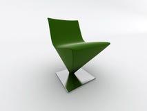 Cadeira verde ilustração royalty free