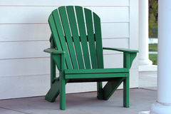 Cadeira verde imagem de stock