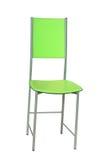 Cadeira verde Fotos de Stock Royalty Free