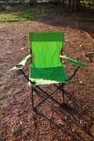 Cadeira verde Imagens de Stock