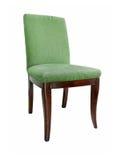 Cadeira verde bonita imagens de stock