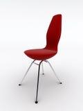 Cadeira vermelha ilustração do vetor