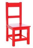 Cadeira vermelha Fotografia de Stock Royalty Free
