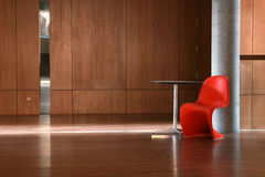 Cadeira vermelha Imagens de Stock Royalty Free