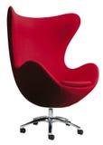Cadeira vermelha do ovo Imagem de Stock Royalty Free