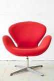 Cadeira vermelha moderna Fotografia de Stock