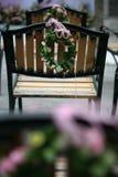 Cadeiras 2 do casamento Imagem de Stock