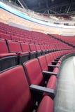 Cadeiras 3 do vermelho Imagens de Stock Royalty Free