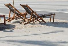 Cadeiras ao ar livre fotografia de stock royalty free
