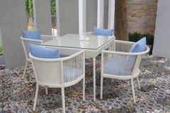 Cadeiras ao ar livre fotos de stock royalty free
