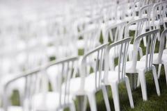 Cadeiras da audiência Fotografia de Stock