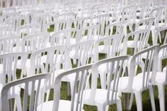 Cadeiras da audiência Fotos de Stock Royalty Free