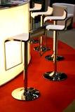 Cadeiras da barra Fotografia de Stock