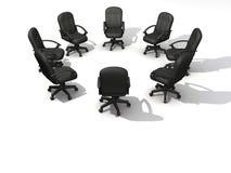 Cadeiras da conferência Fotografia de Stock Royalty Free