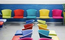 Cadeiras da escola Fotografia de Stock Royalty Free
