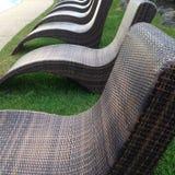 Cadeiras da piscina Imagem de Stock