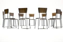 Cadeiras da terapia do grupo Imagem de Stock Royalty Free