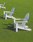 Cadeiras de Adirondack Imagens de Stock