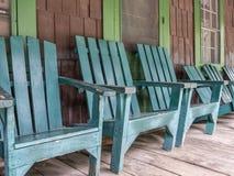 Cadeiras de Adirondack Imagem de Stock