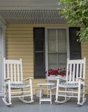 Cadeiras de balanço fotografia de stock royalty free