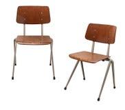 Cadeiras de Brown do escritório Imagem de Stock