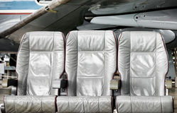 Cadeiras de couro imagens de stock royalty free