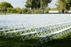 Cadeiras de dobradura 1 imagem de stock royalty free