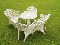 Cadeiras de gramado - 1 Imagem de Stock Royalty Free