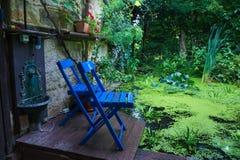 Cadeiras de jardim Imagem de Stock