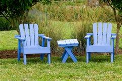 Cadeiras de jardim Imagens de Stock