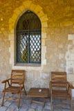 Cadeiras de madeira Fotos de Stock