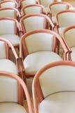 Cadeiras de madeira Imagem de Stock Royalty Free