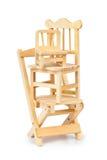 Cadeiras de madeira empilhadas do brinquedo imagem de stock