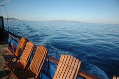 Cadeiras de plataforma Imagens de Stock
