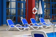 Cadeiras de plataforma Fotos de Stock