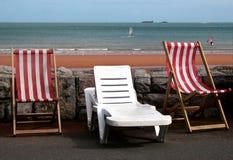 Cadeiras de plataforma Imagem de Stock