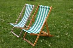 Cadeiras de plataforma Fotos de Stock Royalty Free