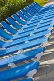 Cadeiras de praia Imagens de Stock Royalty Free