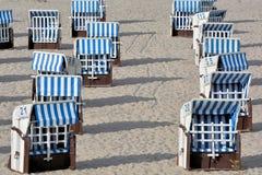 Cadeiras de praia Foto de Stock