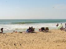 Cadeiras de praia Imagens de Stock